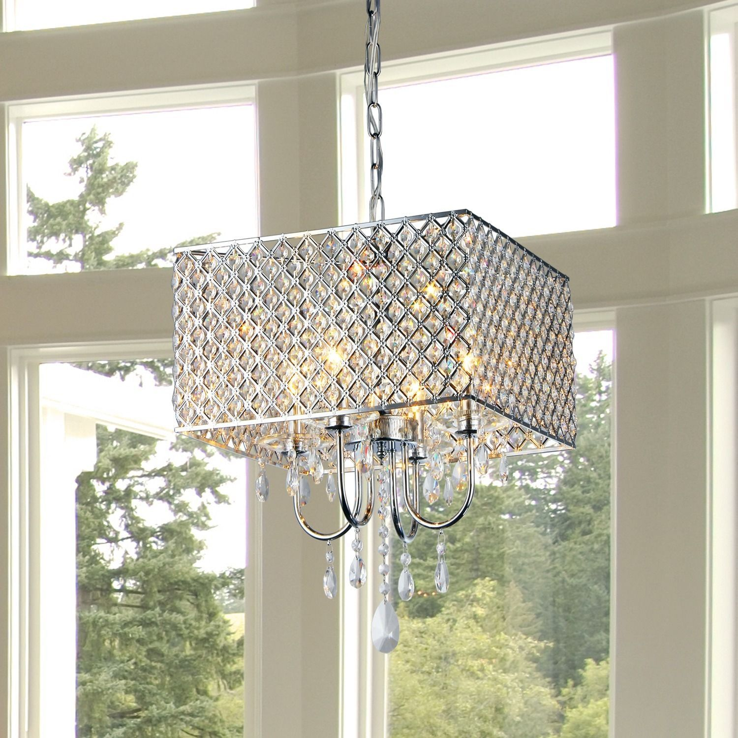Add some elegance to your home decor with this crystal chandelier warehouse of tiffany royal crystal chandelier jcpenney arubaitofo Image collections