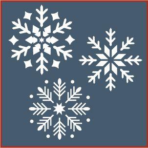 Snowflake Stencil | DIY | Pinterest | Snowflake stencil ... : snowflake quilting stencil - Adamdwight.com
