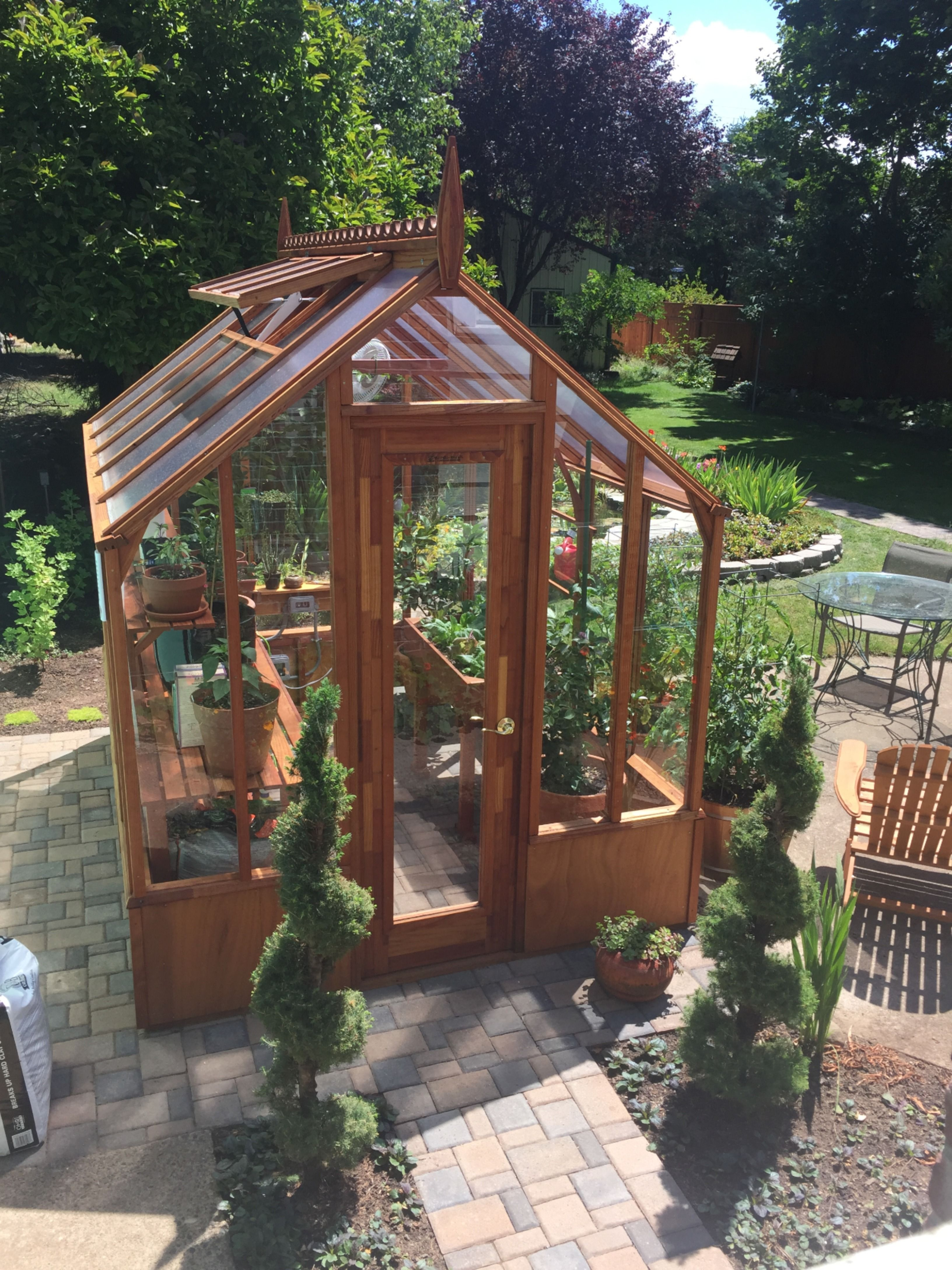 Small Greenhouse By Sturdi Built Greenhouse In 2020 Greenhouse Green House Design Greenhouse Plans