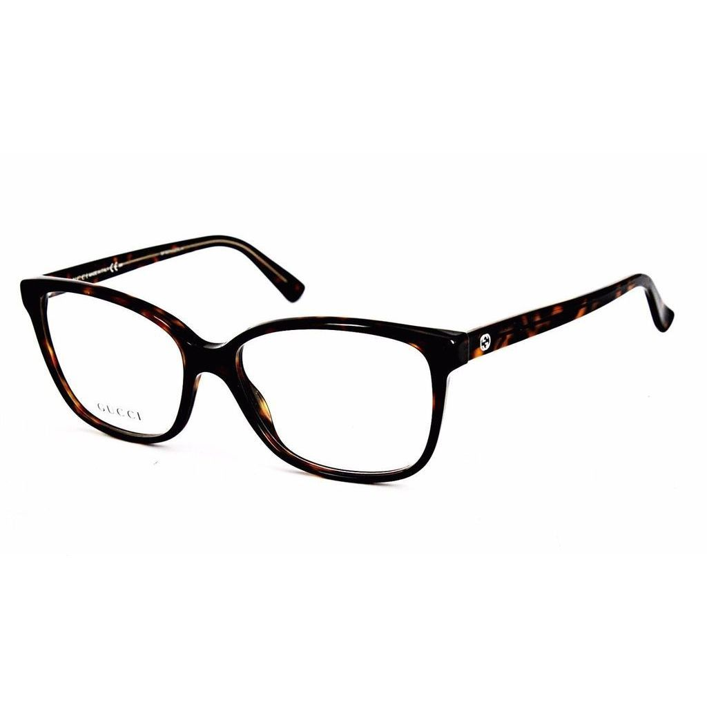 be11ee72bc26 Gucci 3724 0HNZ Womens Rectangular Eyeglasses