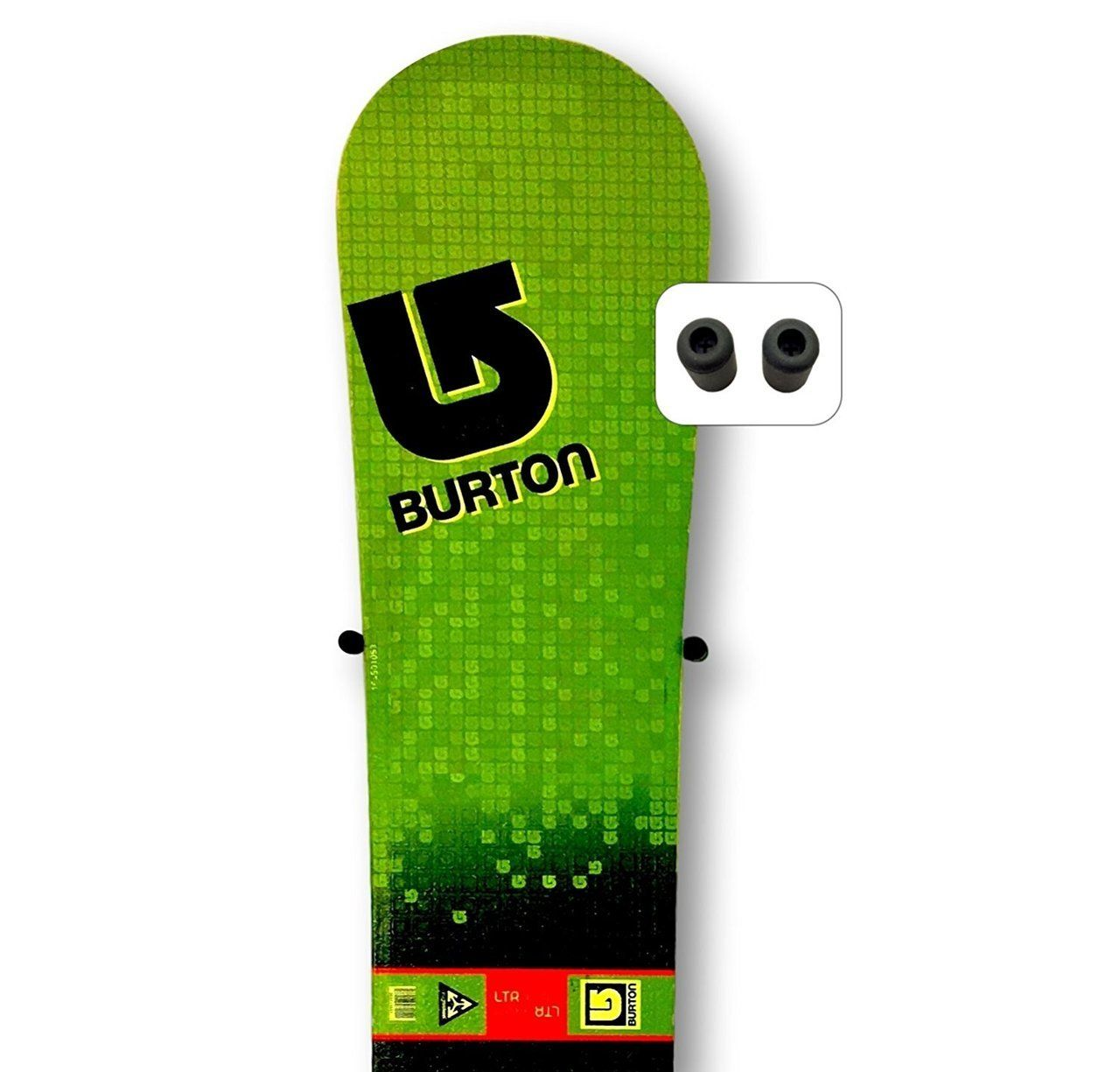 Floating Snowboard Wall Mount (With Images