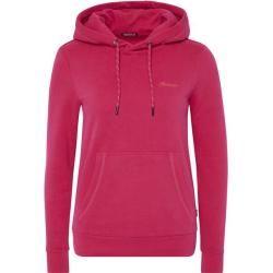 Chiemsee Kapuzensweatshirt mit Logodruck, Größe Xl in Bright Rose, Größe Xl in Bright Rose Chiemsee