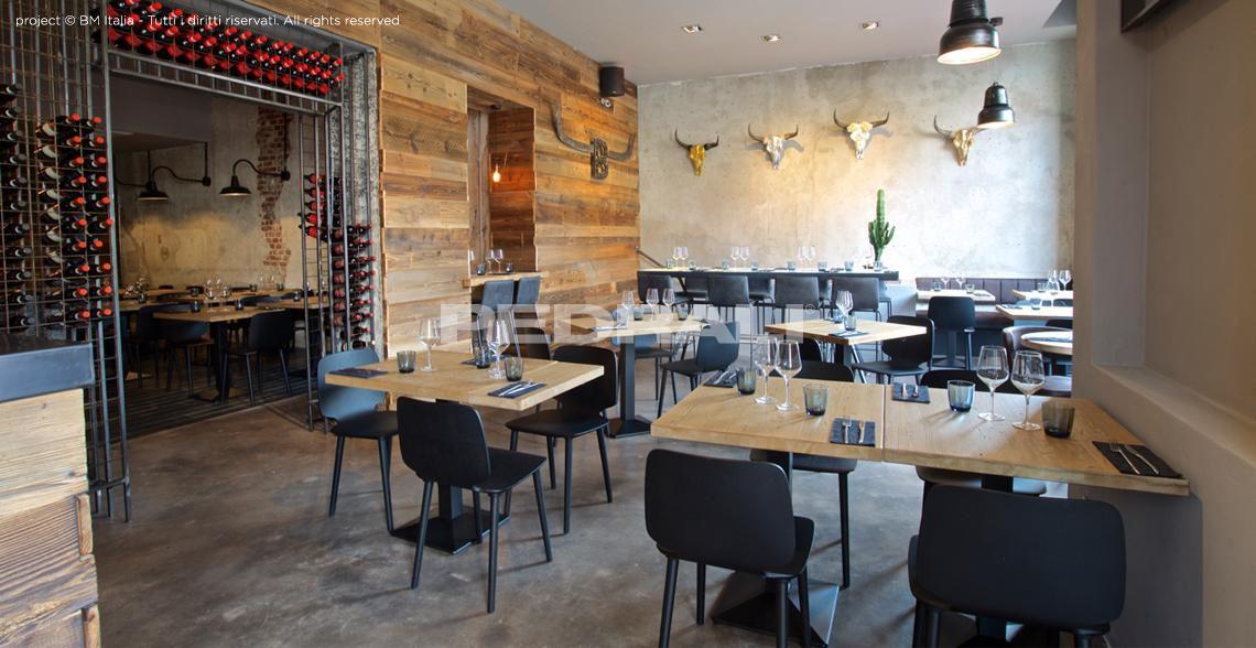Arredamento ristoranti moderno e di design contract for Arredamento ristorante italia