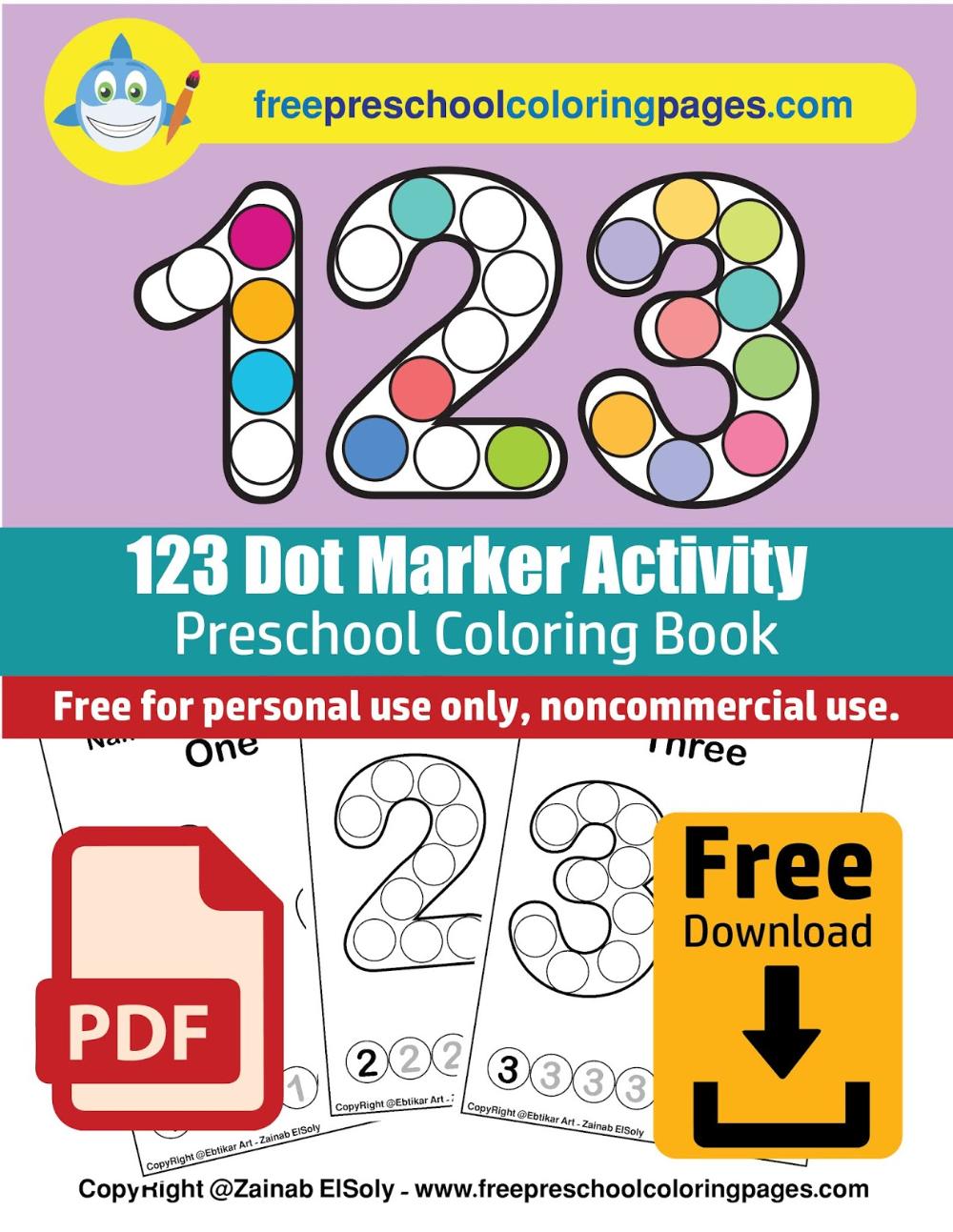 Numbers 123 Count Apples Dot Activity Free Preschool Coloring Sheets Numbers Preschool Printables Free Preschool Dot Marker Activities [ 1293 x 1000 Pixel ]