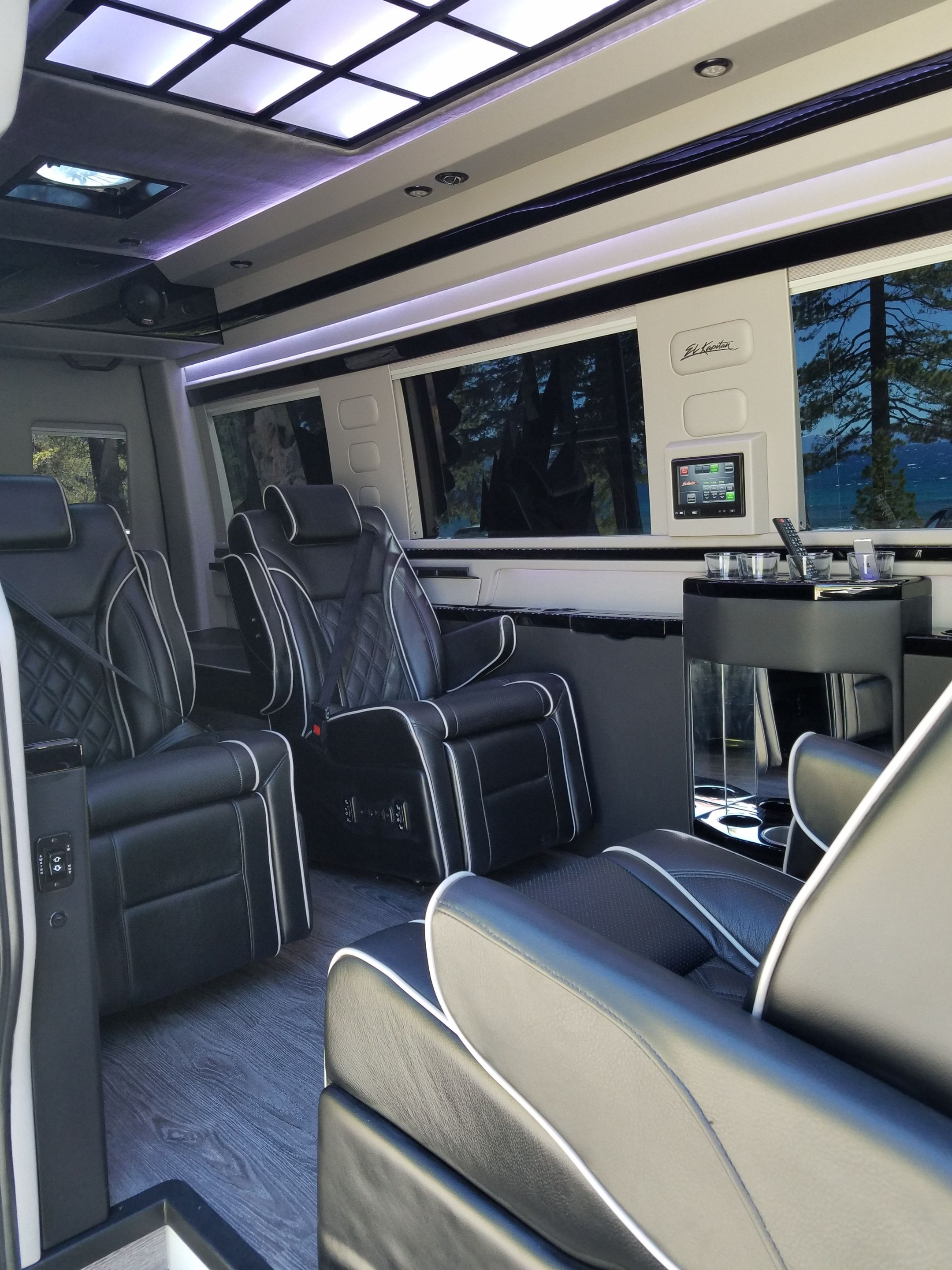 El kapitan van conversion luxury sport edition mercedes sprinter
