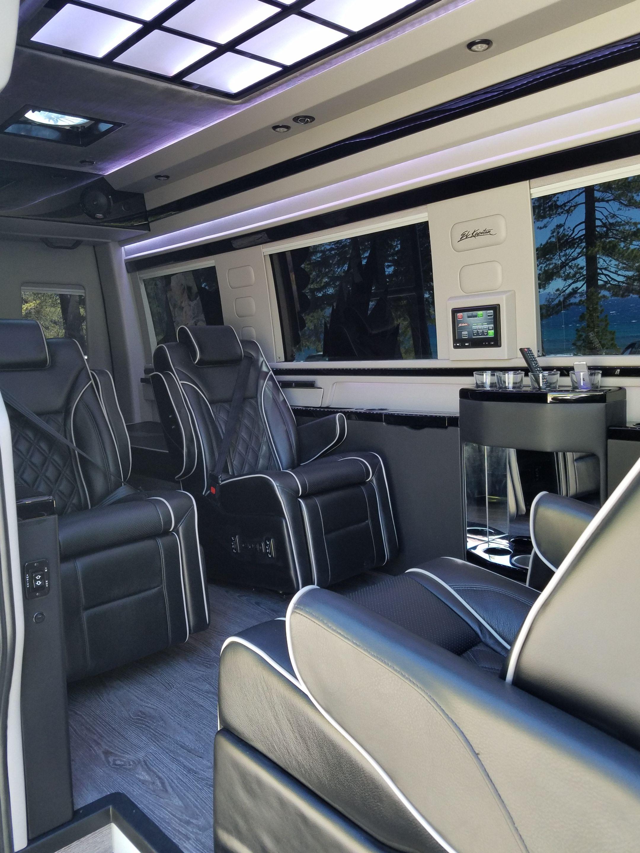 El kapitan van conversion luxury sport edition for Mercedes benz sprinter luxury conversion vans