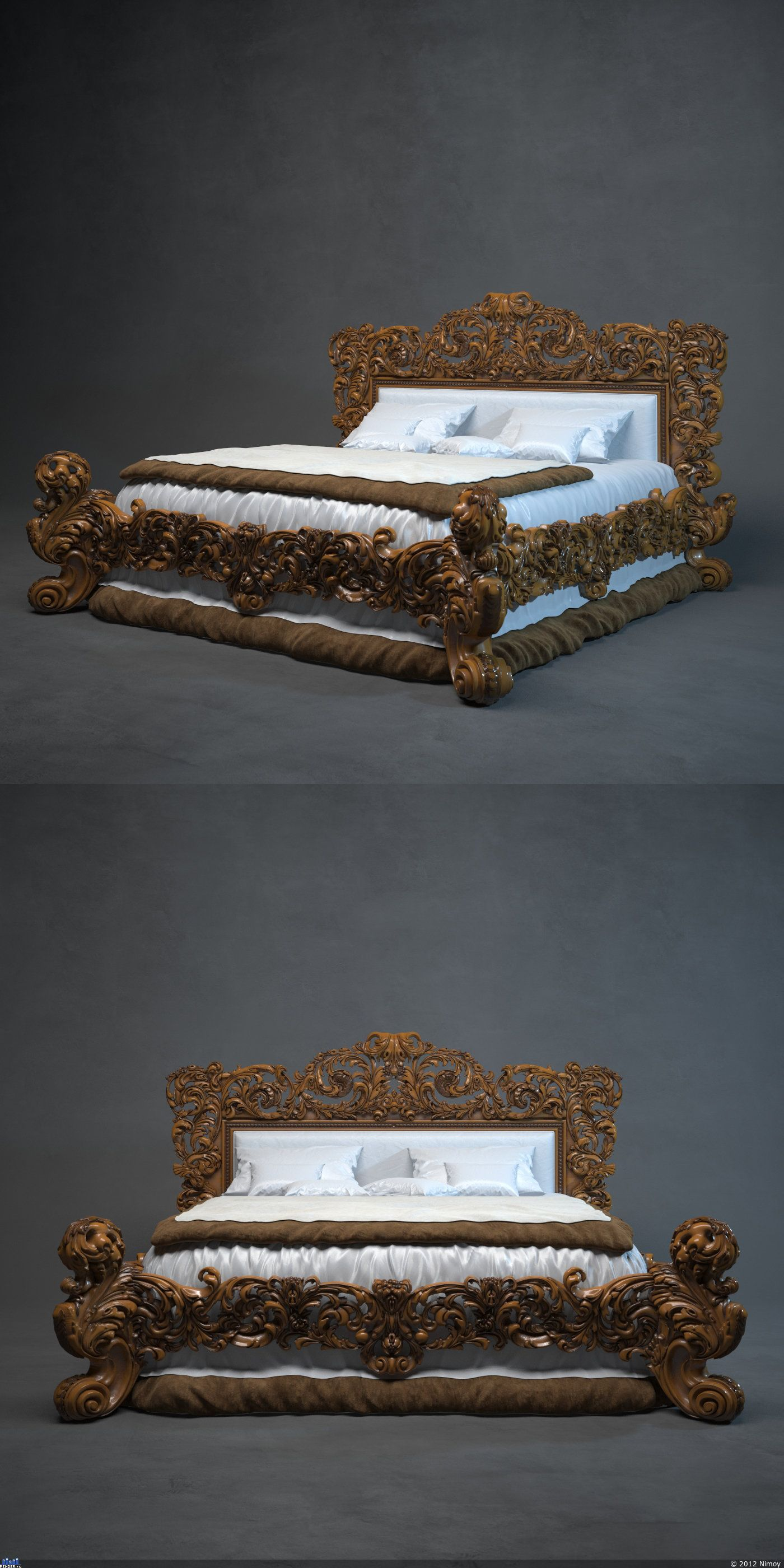 My akar | Royal furniture | Pinterest | Camas, Madera y Muebles únicos