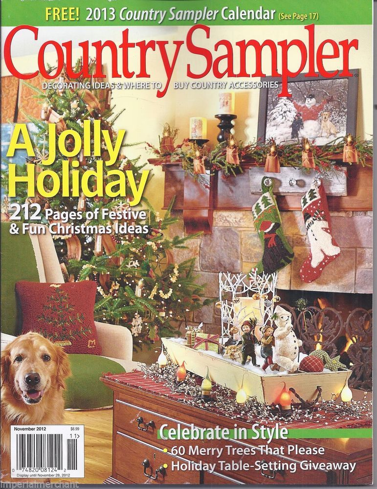 Country sampler magazine with images country sampler