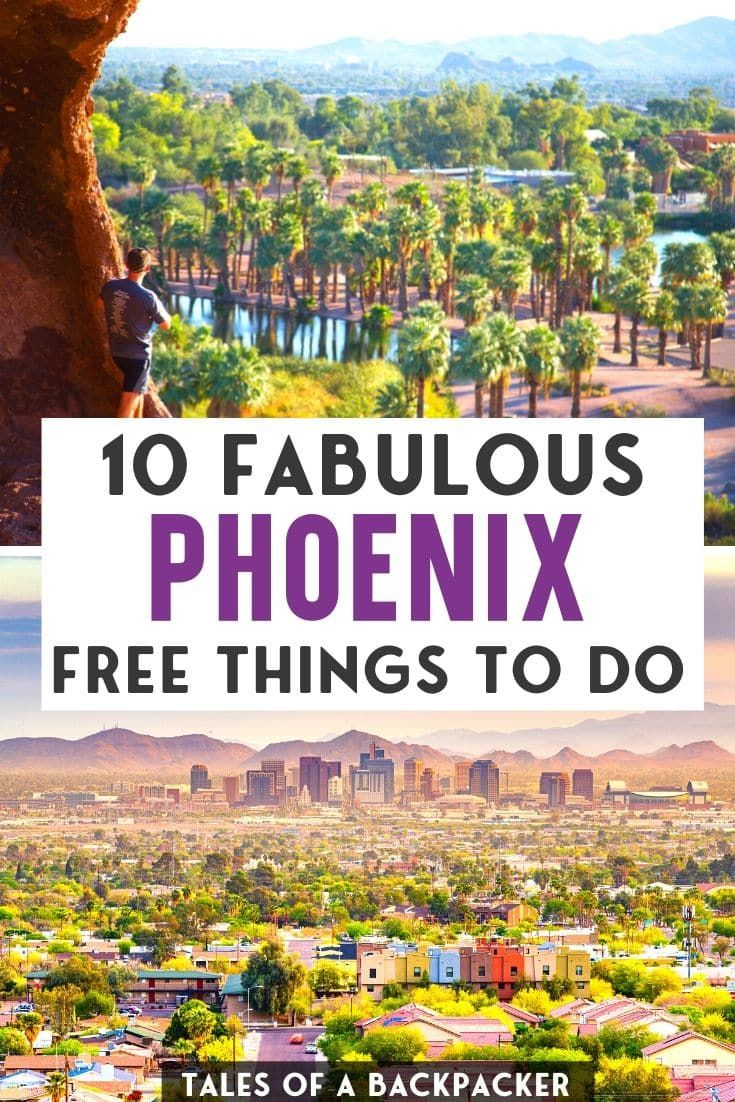 Free Things to Do In Phoenix, Arizona - Tales of a