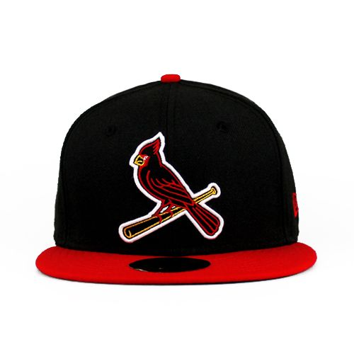 St Louis Cardinals The Neon Sign Team Colors 59fifty  b3b514162aa