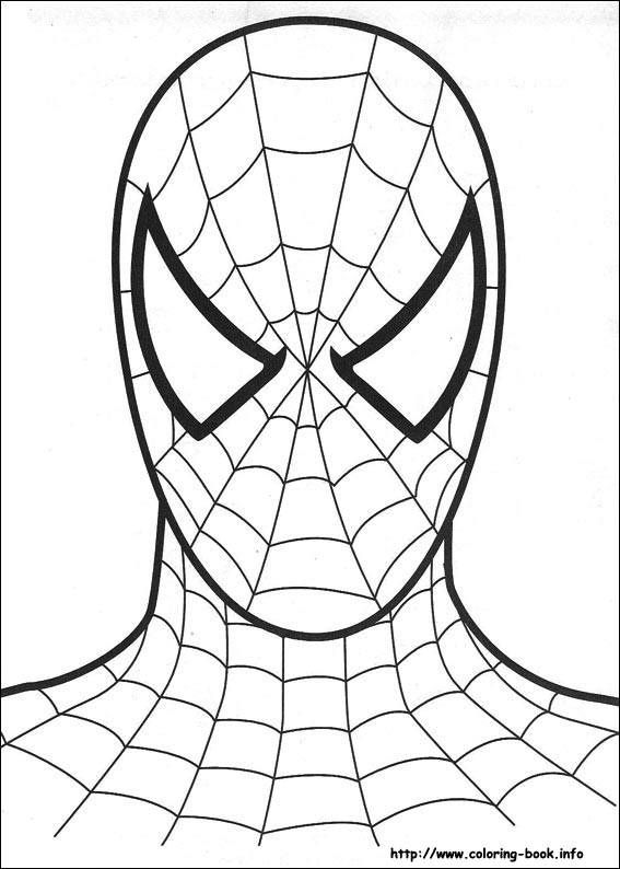 Spider Printable Printable Coloring Pages Spider Man For Devin