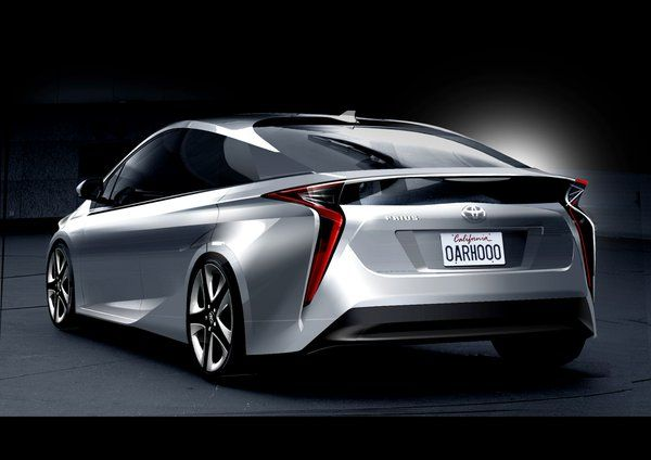 2016 Toyota Prius Sketch With Images