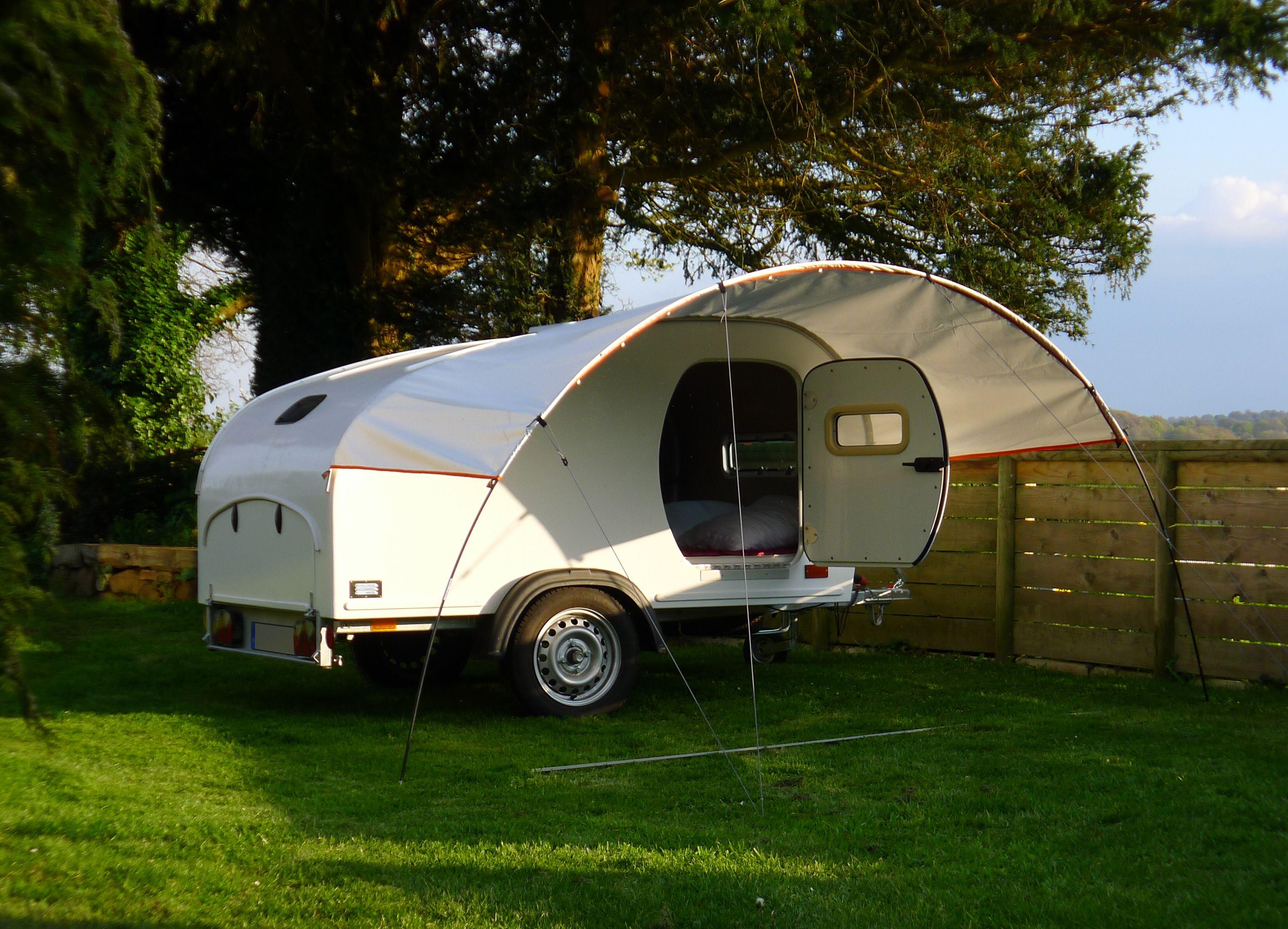 My Teardrop Caravanette Homebuilt Teardrop Trailer Building A Teardrop Trailer Teardrop Caravan Teardrop Trailer