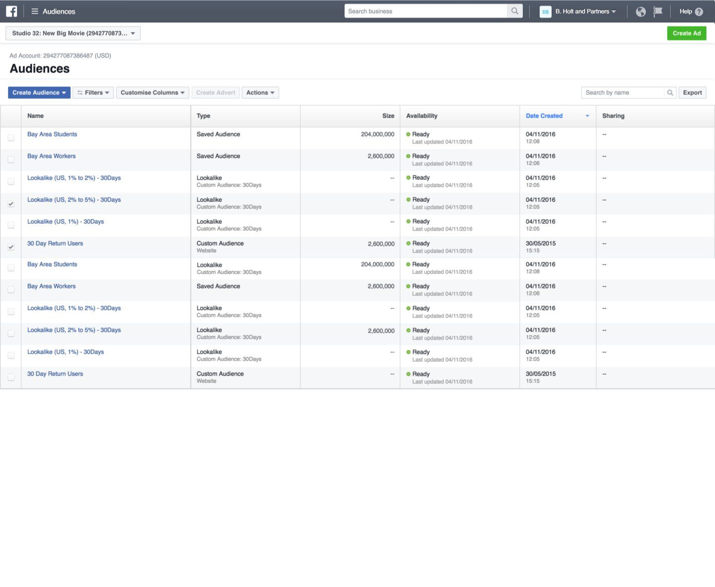 Impossible to create new Facebook Business Manager PPC