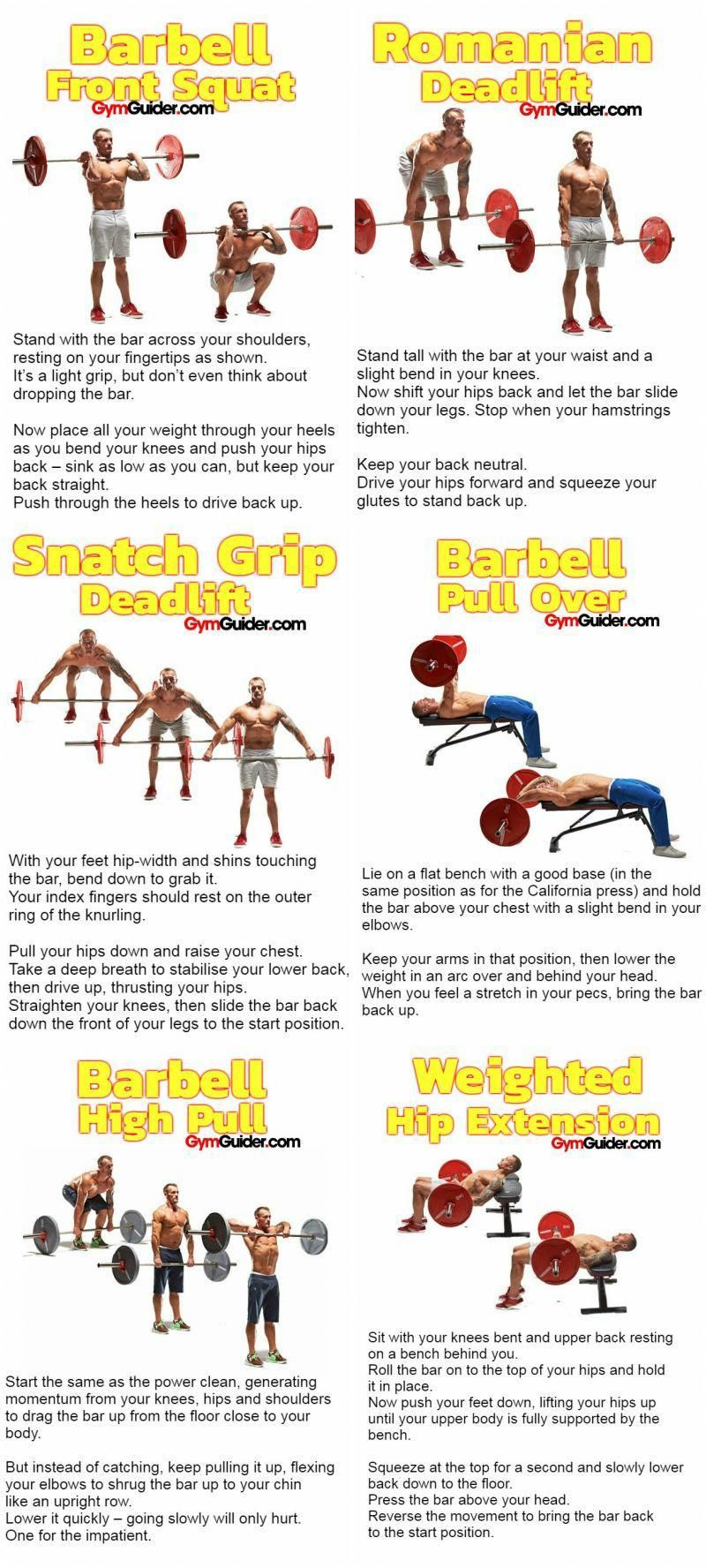 Are you bored of the usual barbell movements? Do you want to do something spectacular for yourself,...