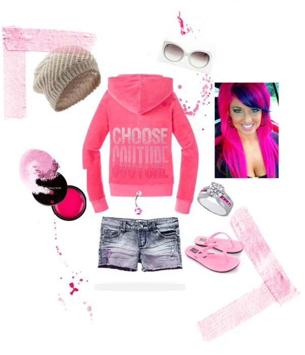 """Pink Pink Pink"" by aagray on Polyvore"
