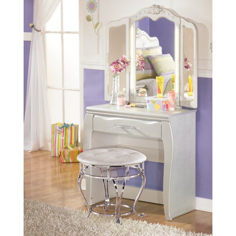 Signature Design by Ashley Zarollina Bedroom Vanity - ASHY1271 - Bedroom Vanity Table