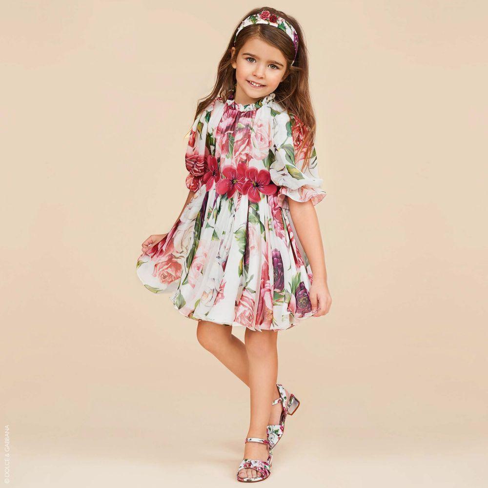 Girls Silk Chiffon Dress Silk Chiffon Dress Kids Fashion Inspiration Girl Silk Dress