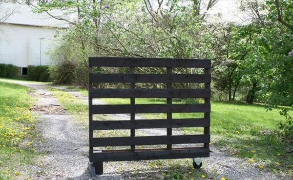 DIY Holzpalette Kräutergarten Tutorial #kräutergartenpalette