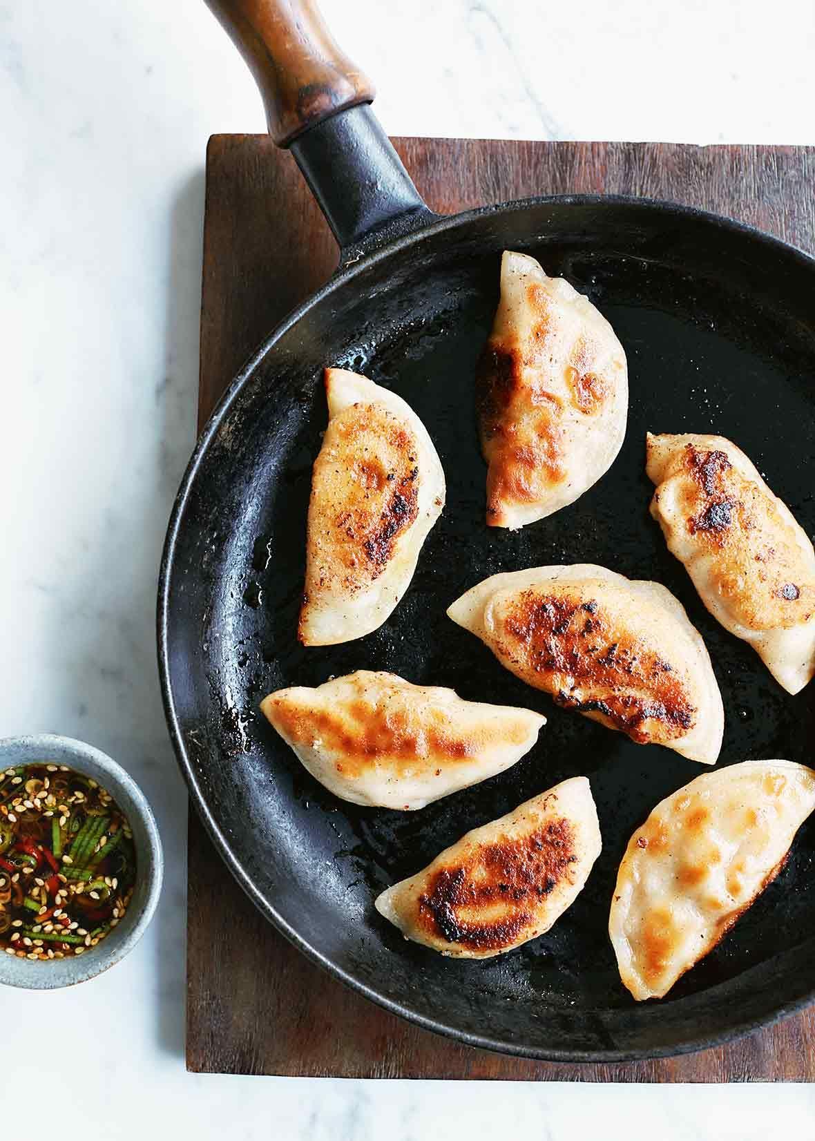 Pork dumplings recipe pork korean food recipes and korean pork dumplings recipes with tofueasy chinese recipesbaby food forumfinder Images