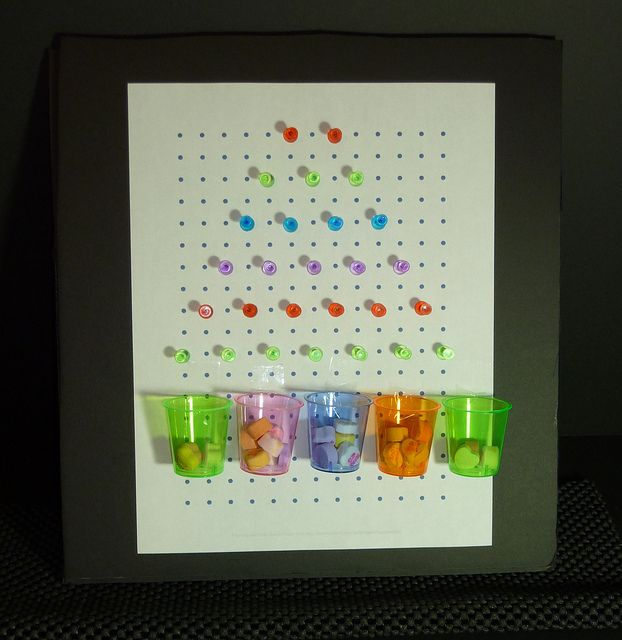 Homemade plinko game pinterest plinko game homemade and gaming homemade plinko game perfect for playing wheres my water let the kids move around the pegs to help get the water to swampy solutioingenieria Choice Image
