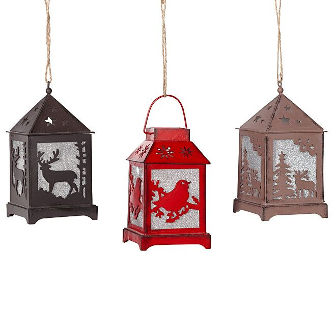 """Cozy Cocooning"" Illuminated Mini Lantern $3.99 Rona ..."