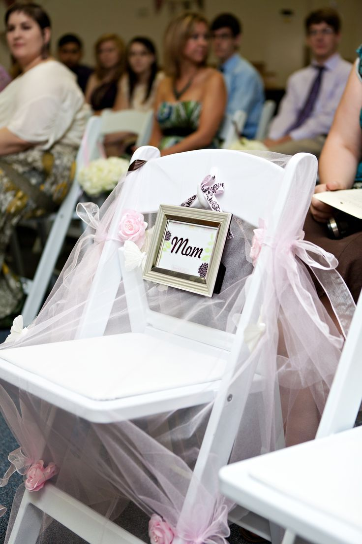 Wedding Memory A Seat For My Mother Who Couldn T Be There On Special Day Nat Pinterest Weddings And Future