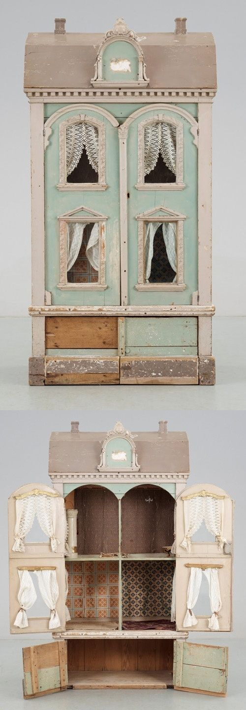 Dollhouse enchanted pinterest docksk p m bler och minis for Young house love dollhouse