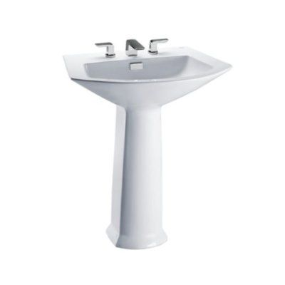 Toto Soiree Vitreous China 30 Pedestal Bathroom Sink With