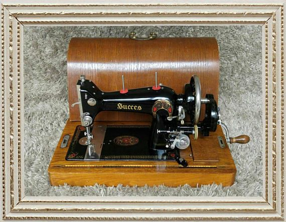 Sold Rare Succes Vintage Sewing Machine Made In Japan Magnificent Who Makes Singer Sewing Machines Now