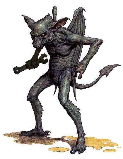 Gremlin (Demon/Parasite)(Small) – The second evolution of