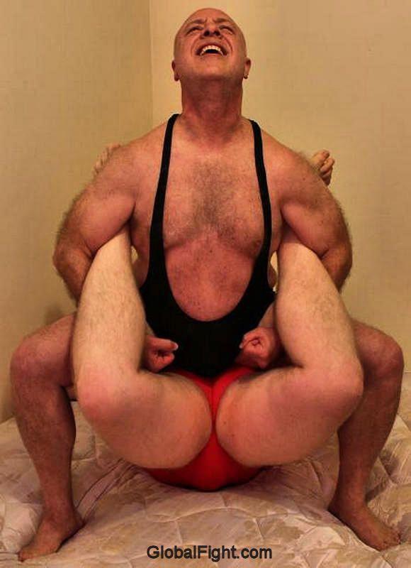 Hairy muscular gay indian wrestler
