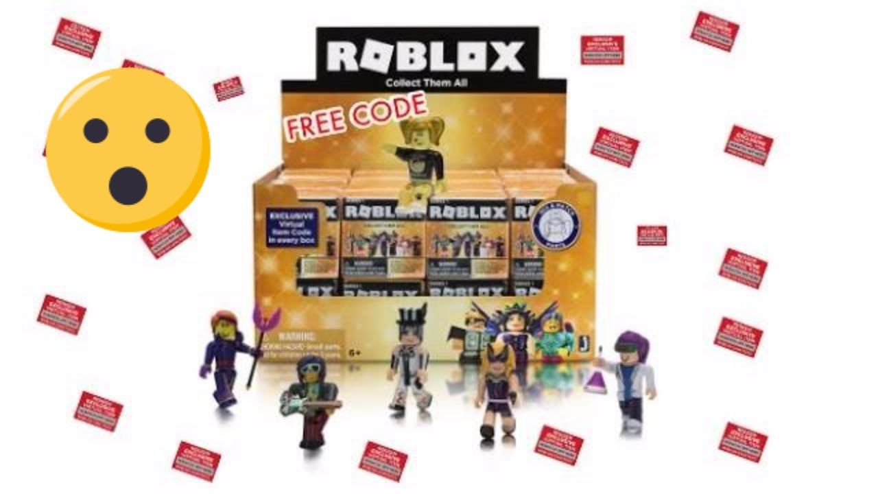 Roblox Toys Series 5 Blind Boxes Code Items Unboxing Toy Review Roblox Coding Roblox Codes