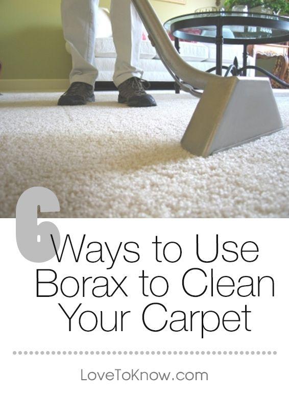 Borax to Clean Carpet | Natural carpet cleaners, Carpet ...