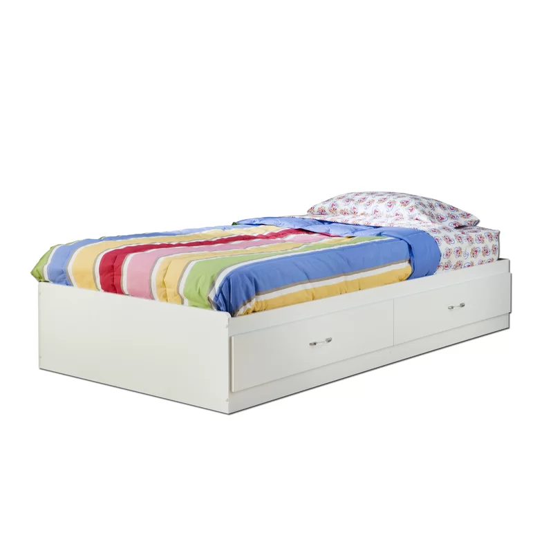 Logik Twin Mate's & Captain's Bed with Drawers Bed with