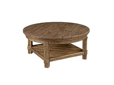 Shop For Kincaid Furniture Round Cocktail Table 90 3133 And Other Dining Room