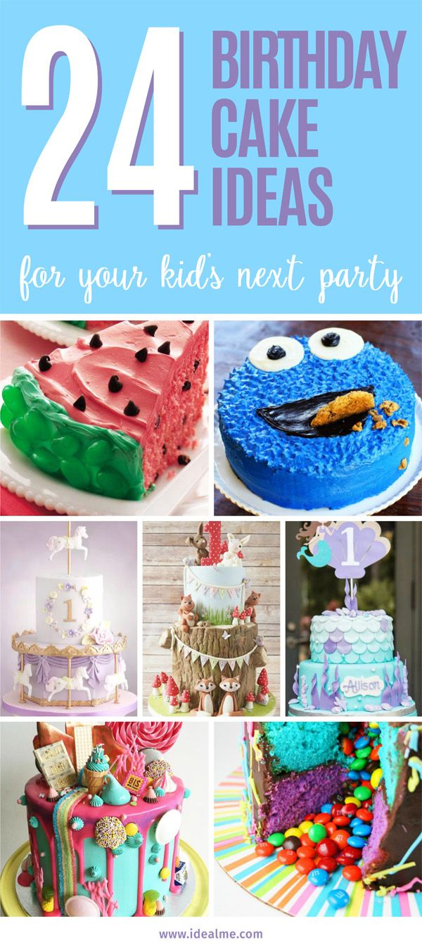 24 Fun Themed Kids Birthday Cake Ideas Birthday Cake Kids Kids