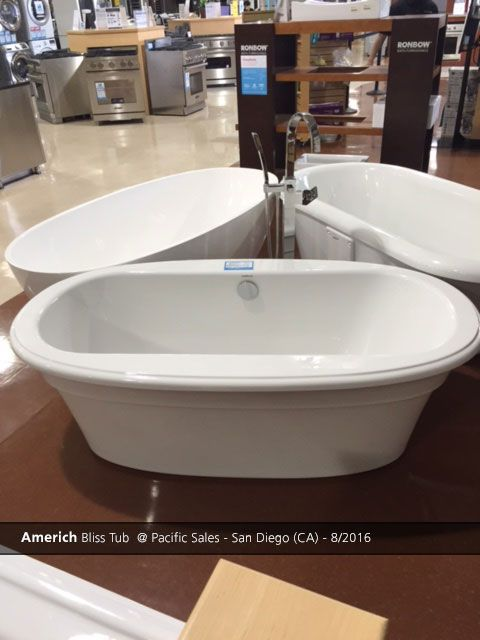 americh bliss tub @ pacific sales - san diego (ca) - 8/2016