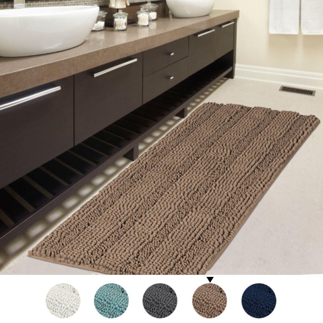 Home Washable Bath Mat Bathroom Rugs Bath Mat