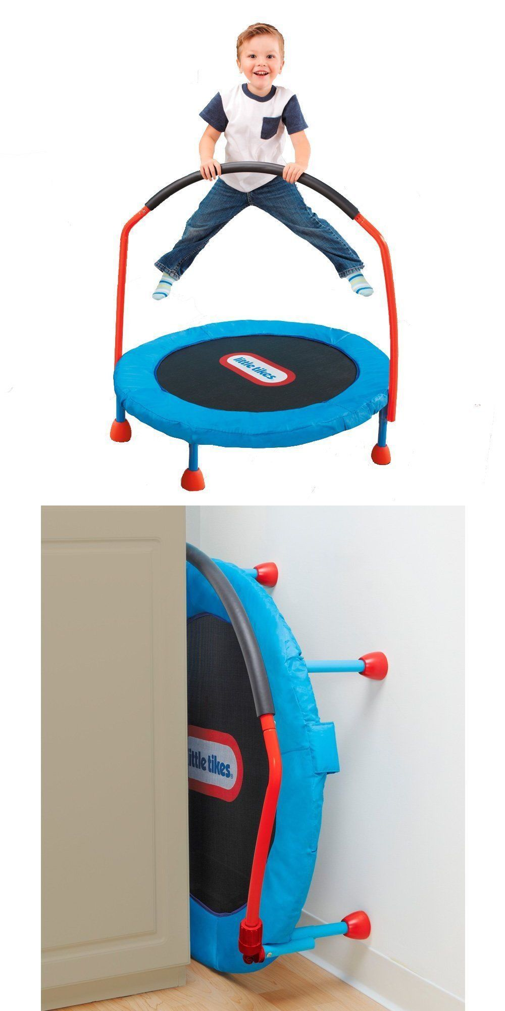 Child Size 2574 Little Tikes Easy Store 3 Trampoline