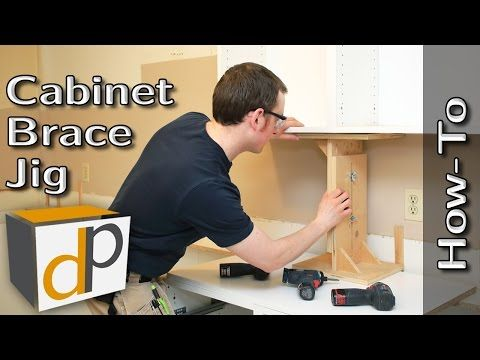 1417 hang upper cabinets by yourself cabinet brace how to 1417 hang upper cabinets by yourself cabinet brace how to youtube solutioingenieria Choice Image