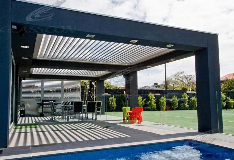 louvered roof pergola cost best pergola ideas metal soffit