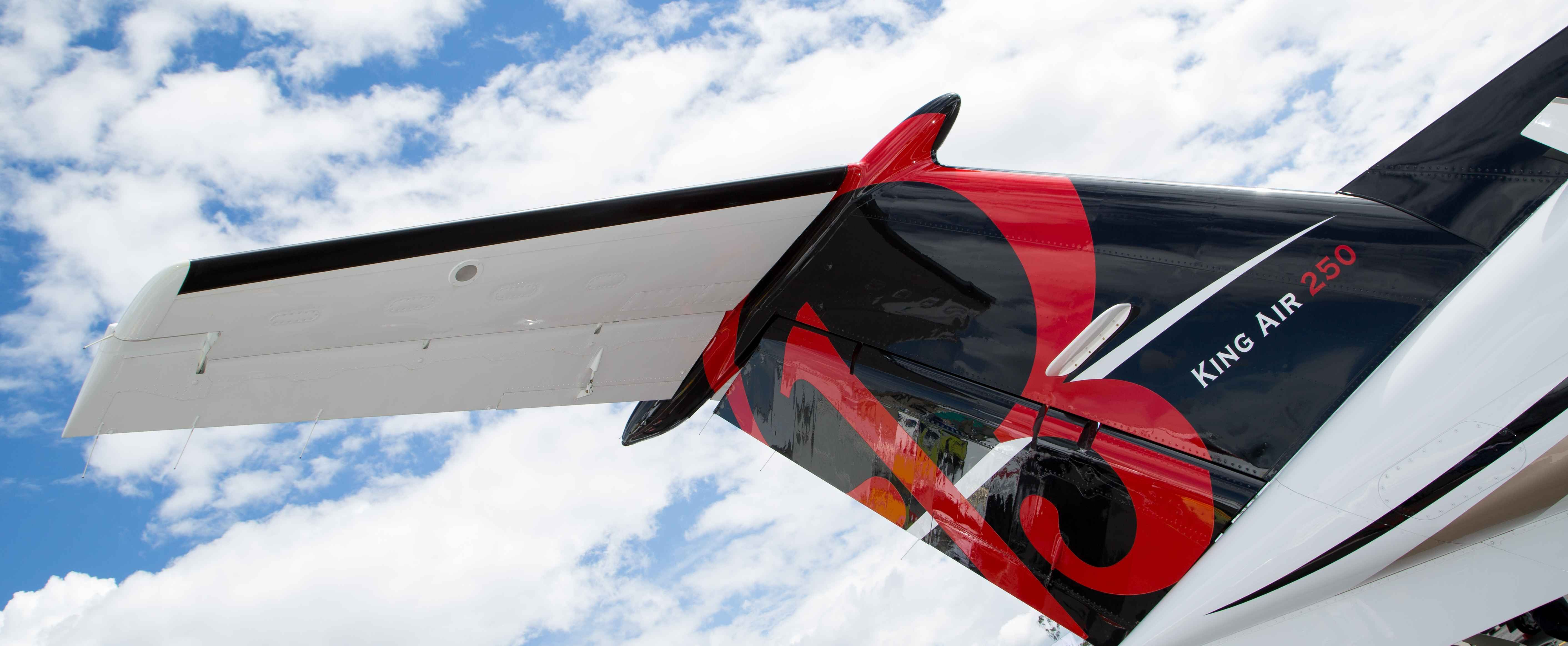 Beechcraft B 250 Fotos