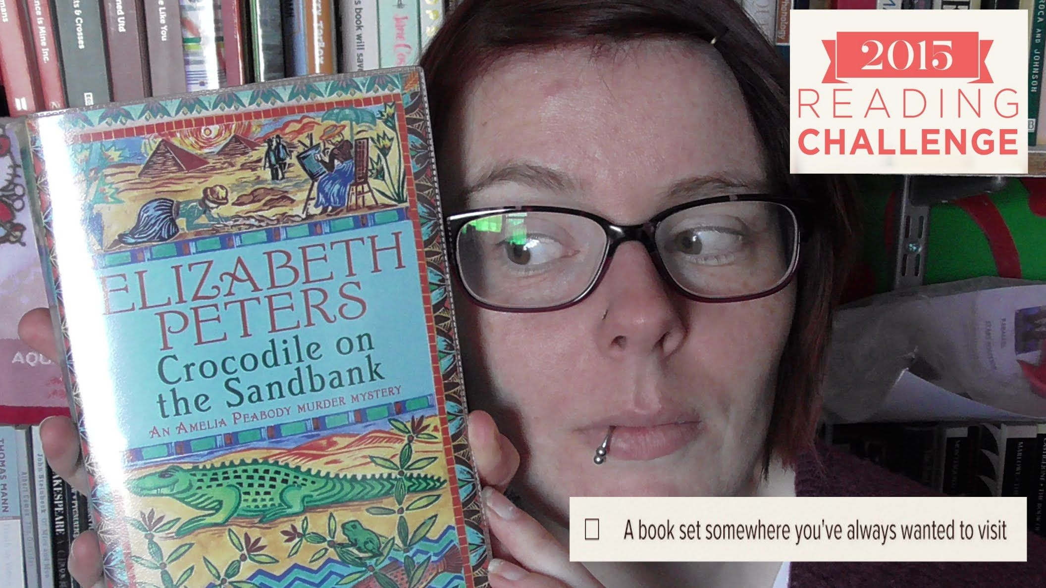 Book Review  Crocodile On The Sandbank By Elizabeth Peters