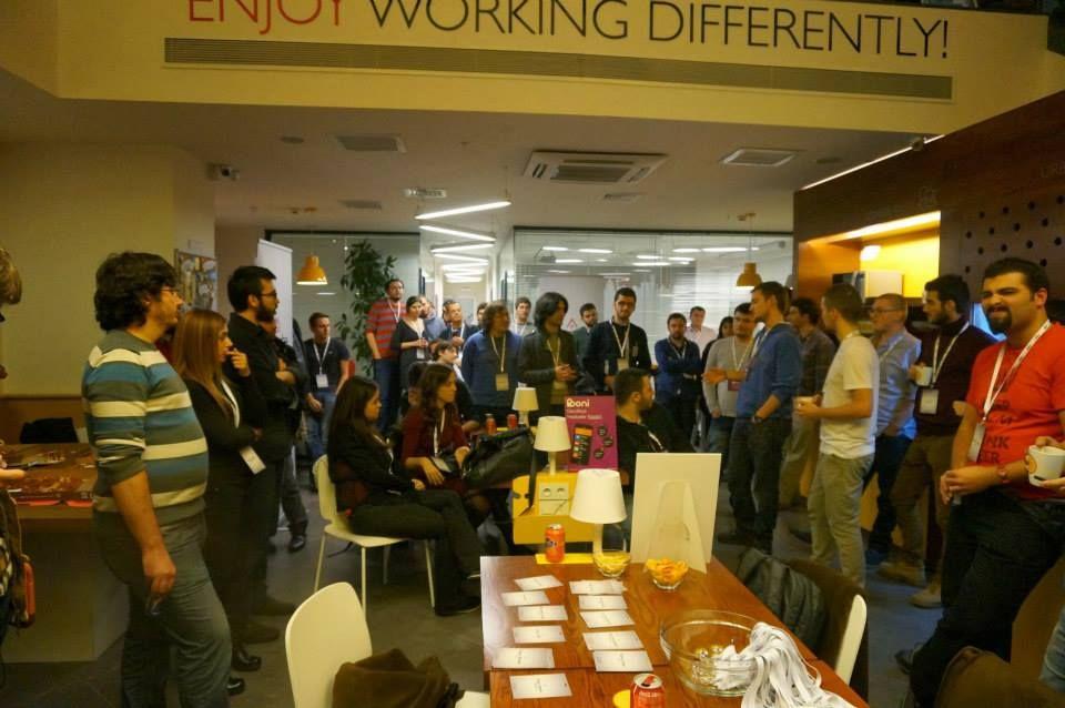 urban station, maslak, aslanoba capital, gdg istanbul, mobile, hackathon, event, enjoy working differently