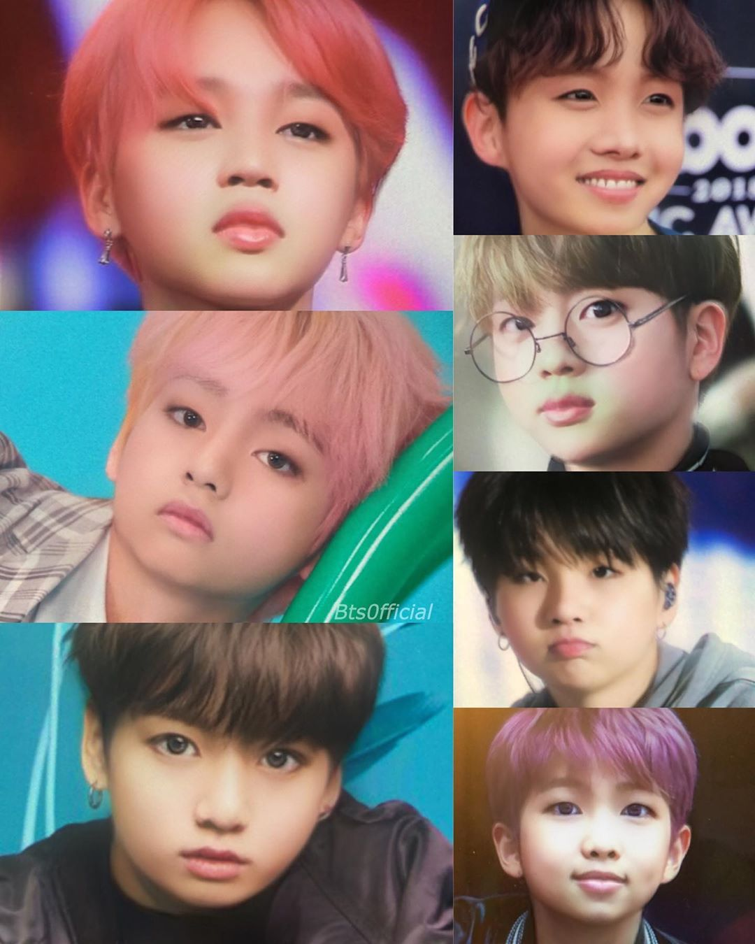 Which one looks the best as BTS future kids ? 😂