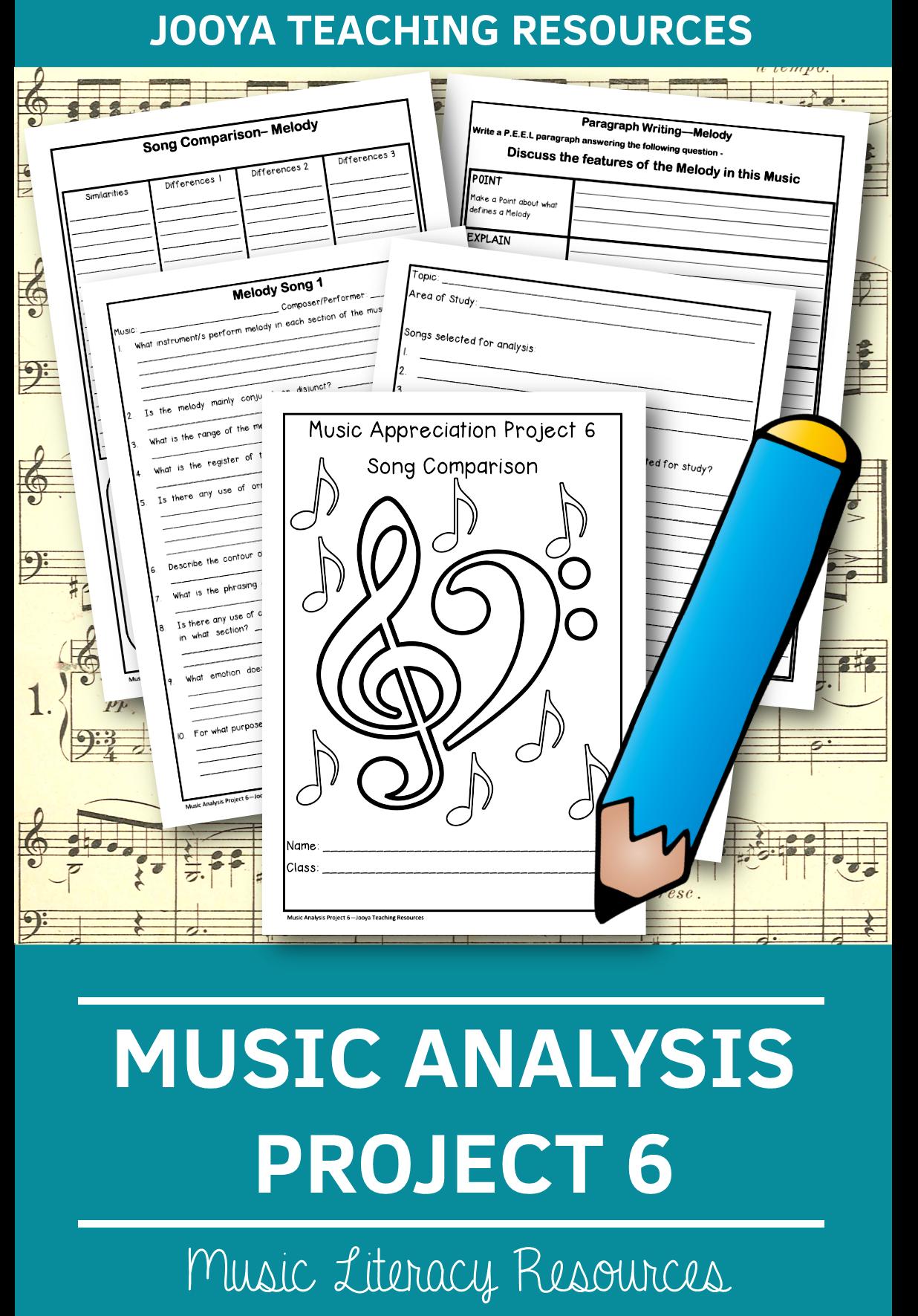 Musicysis Project 6