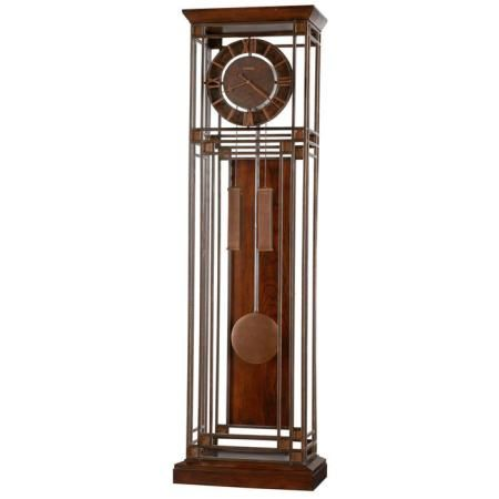 Howard Miller Tamarack Floor Clock, The Tamarack Floor Clock By Howard  Miller Has An Aged Ironstone Finish On Iron Framework With Antique Gold  Square ...