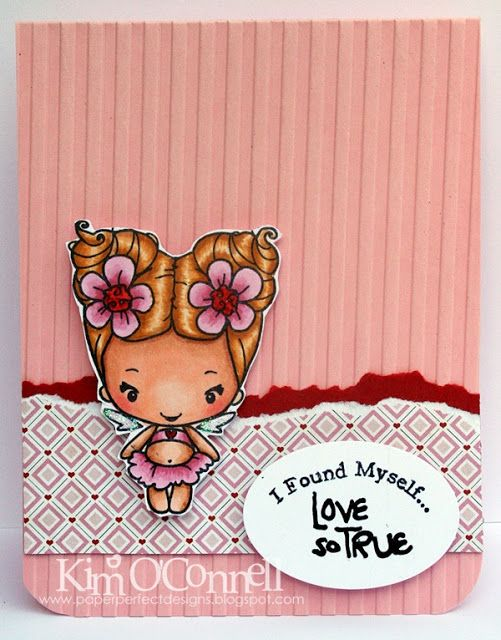 """Paper Perfect Designs by Kim O'Connell: The Greeting Farm's """"Lovey Bean"""""""