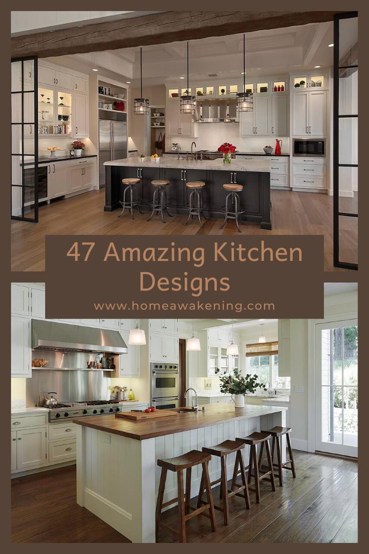 47 Amazing Kitchen Design Ideas In 2020 Kitchen Design Best Kitchen Designs